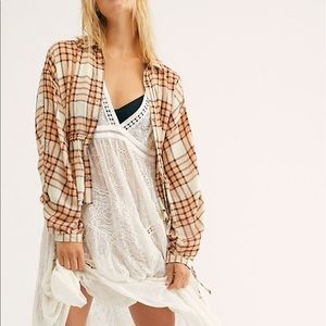 🆕 Free people blouse size medium new with tag